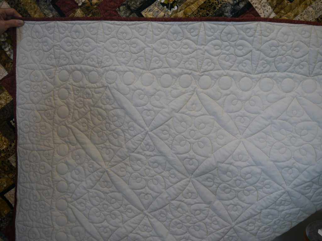 Elaine Fitch Fabric Quilt
